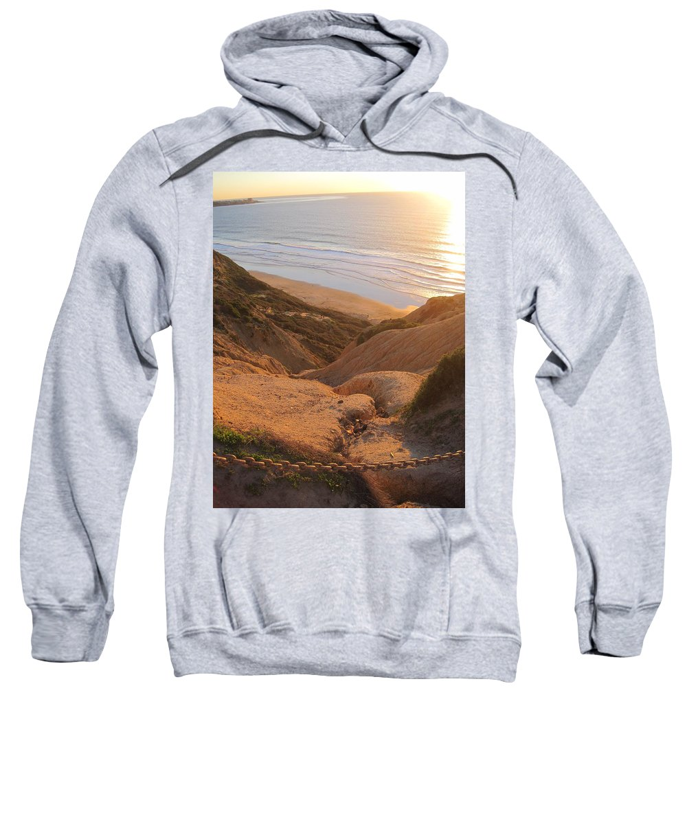 Blacks Beach Sweatshirt featuring the photograph Point La Jolla by Paintings by Parish