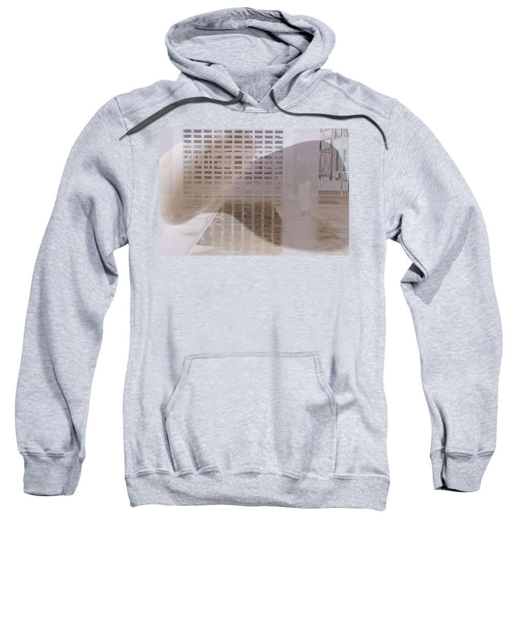 Pondering Sweatshirt featuring the photograph Pondering by Kerryn Madsen-Pietsch