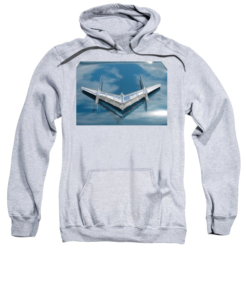 Pontiac Sweatshirt featuring the photograph Pontiac Air by Kelly Mezzapelle