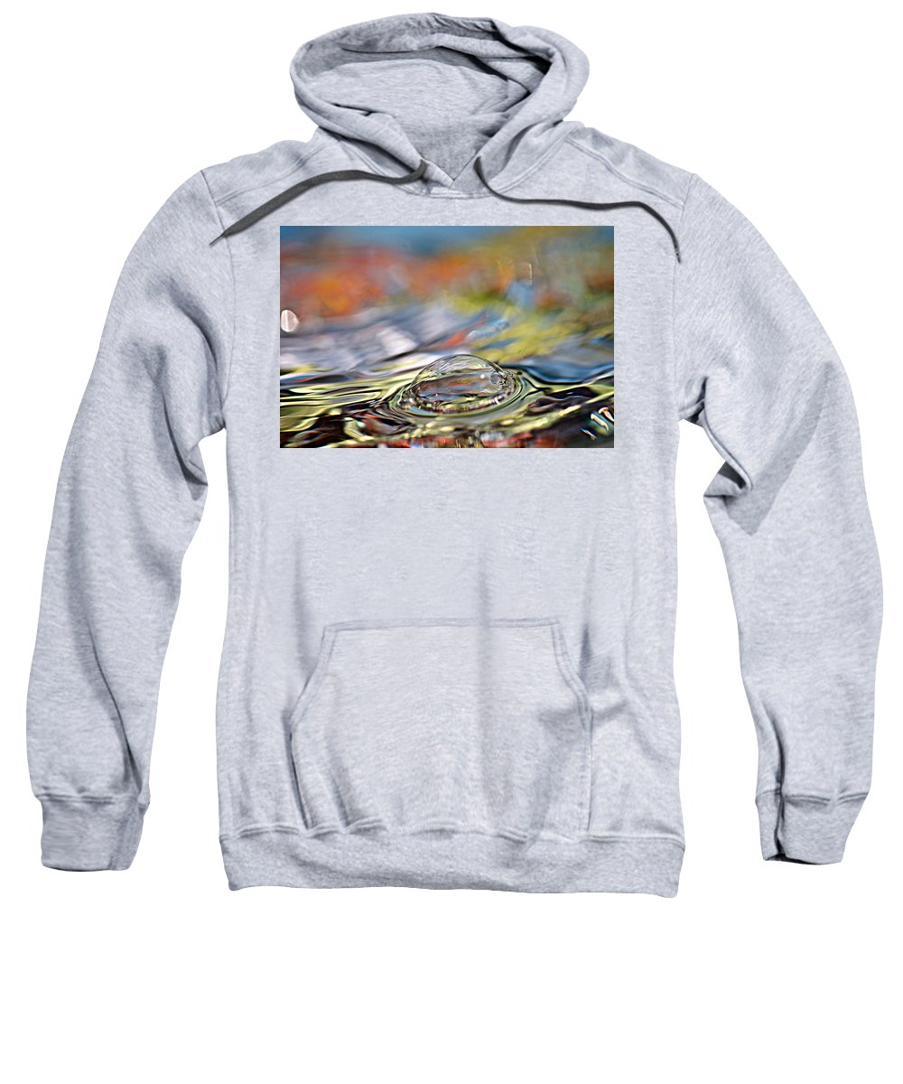 Water Sweatshirt featuring the photograph Pop Me by Lisa Knechtel