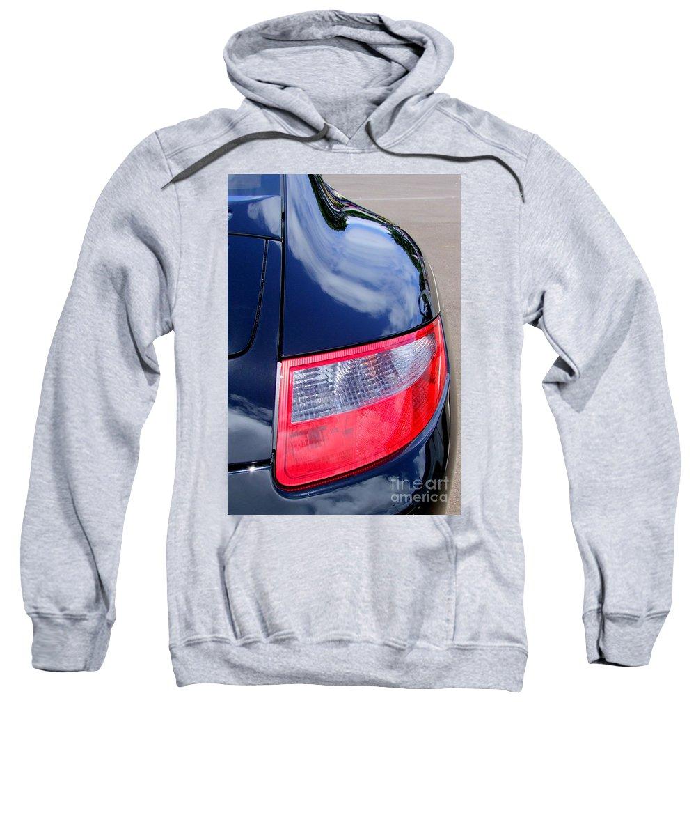 Porsche Sweatshirt featuring the photograph Porsche 911 Carrera S Tail Light by Mary Deal