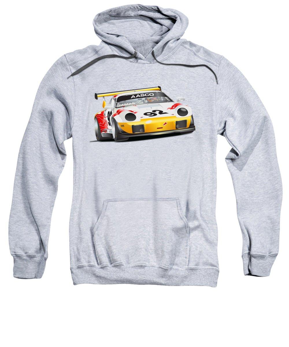 Laguna Seca Hooded Sweatshirts T-Shirts