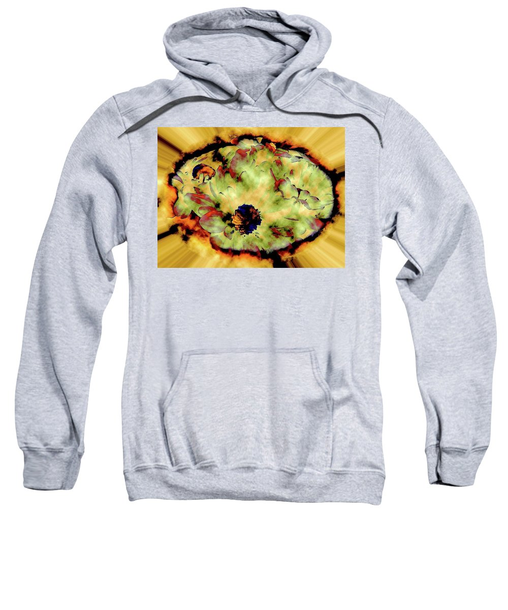 Abstract Sweatshirt featuring the photograph Portal To The Faraway Yet So Close by Elizabeth Tillar