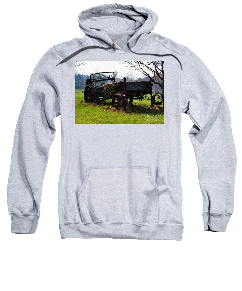 Portland Sweatshirt featuring the photograph Portland Ct by Virginia Levasseur