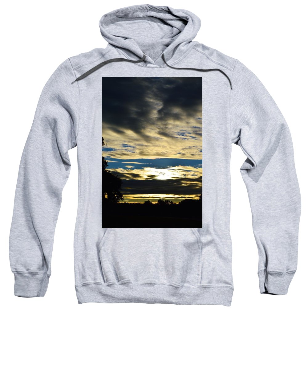 Portrait Sunrise Sweatshirt featuring the photograph Portrait Sunrise by Warren Thompson