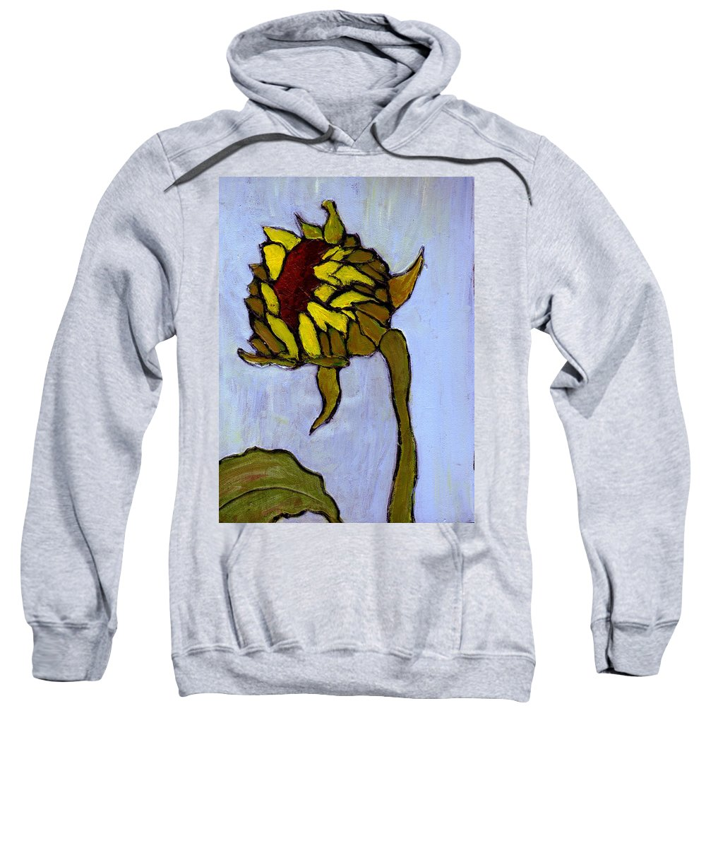 Sunflower Sweatshirt featuring the painting Potential by Wayne Potrafka