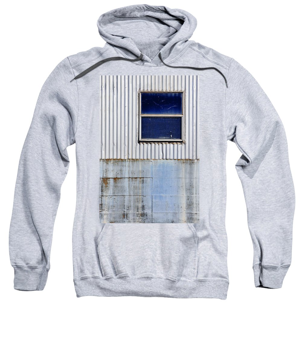 Skip Hunt Sweatshirt featuring the photograph Powder Blu by Skip Hunt