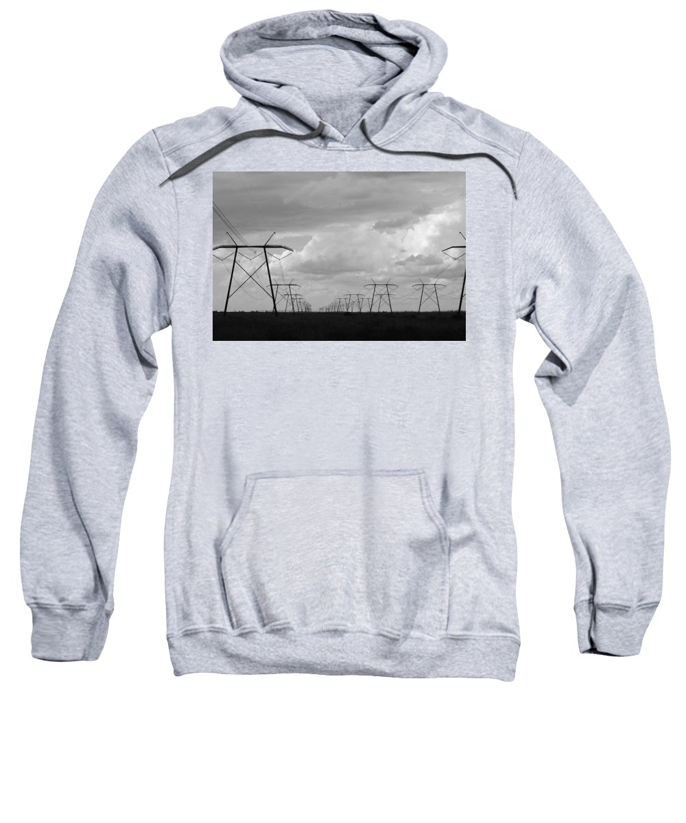 Sky Sweatshirt featuring the photograph Power In The Sky by Rob Hans