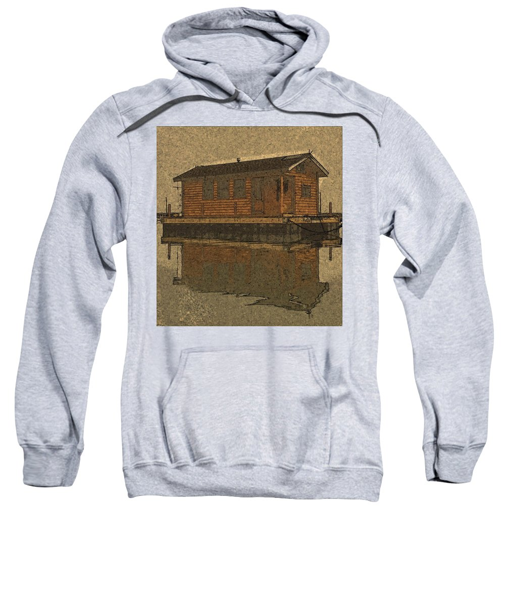 Sweatshirt featuring the photograph PR4 by Jeffrey Canha