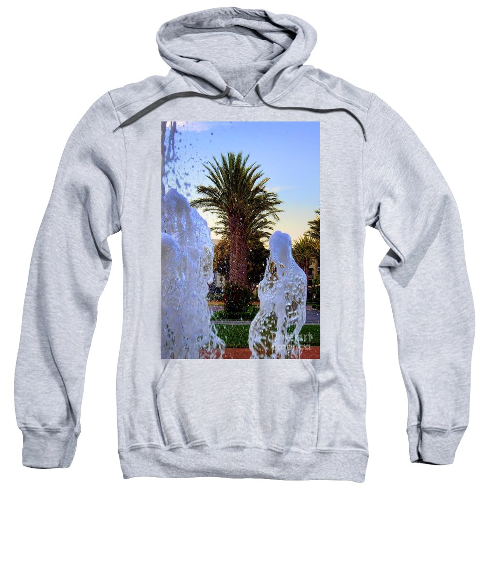 Pregnant Water Fairy Sweatshirt featuring the photograph Pregnant Water Fairy by Mariola Bitner