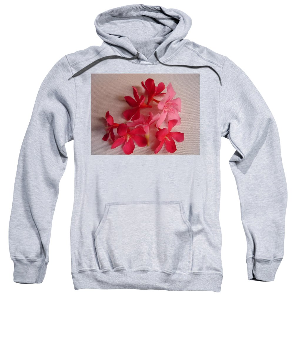 Foliage Sweatshirt featuring the photograph Pretty Flowers by Usha Shantharam