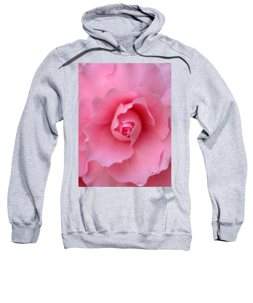 Floral Sweatshirt featuring the photograph Pretty In Pink by Marla McFall