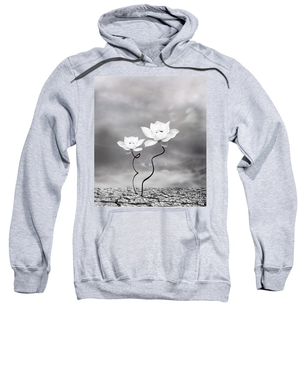 Surreal Sweatshirt featuring the photograph Prevail by Jacky Gerritsen