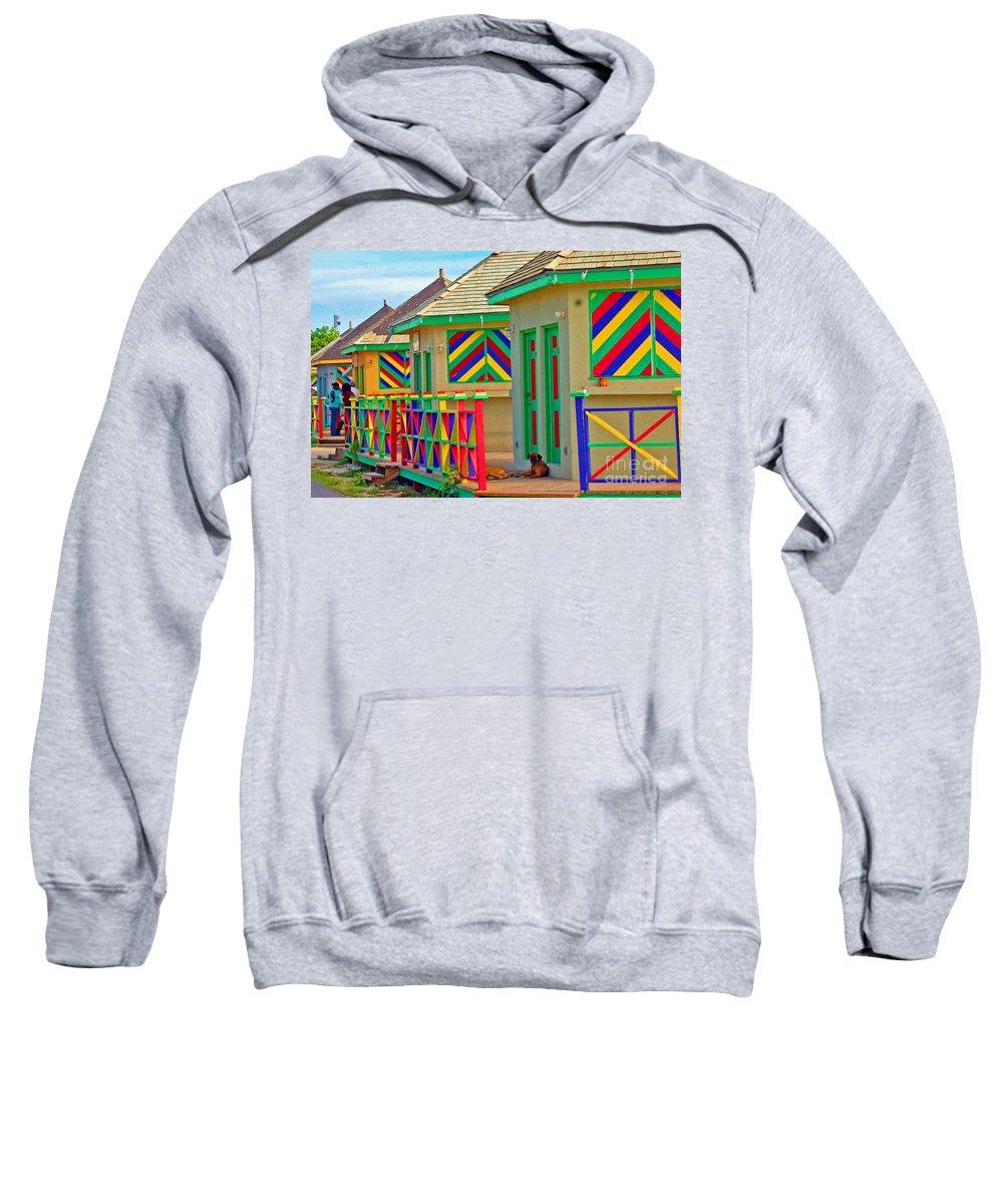 Vivid Sweatshirt featuring the photograph Primary Colors by Debbi Granruth