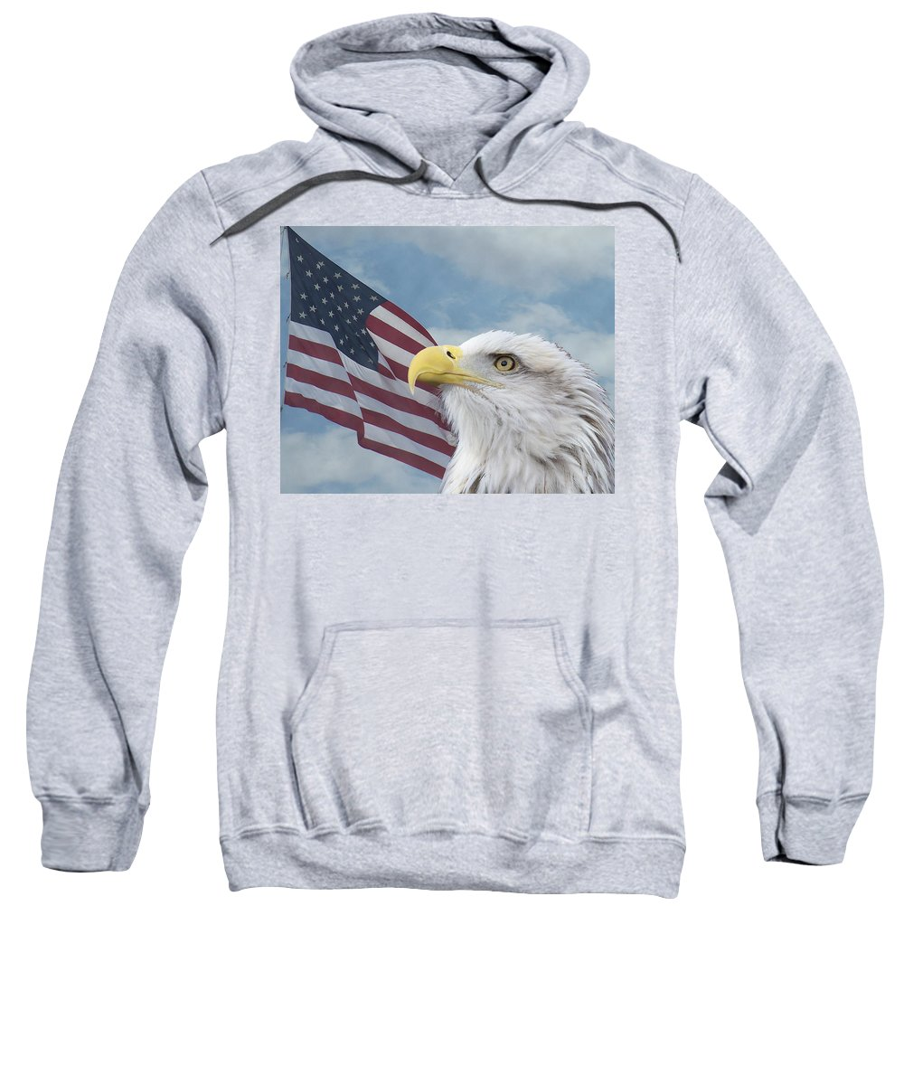 Birds Sweatshirt featuring the photograph Proud by Ernie Echols