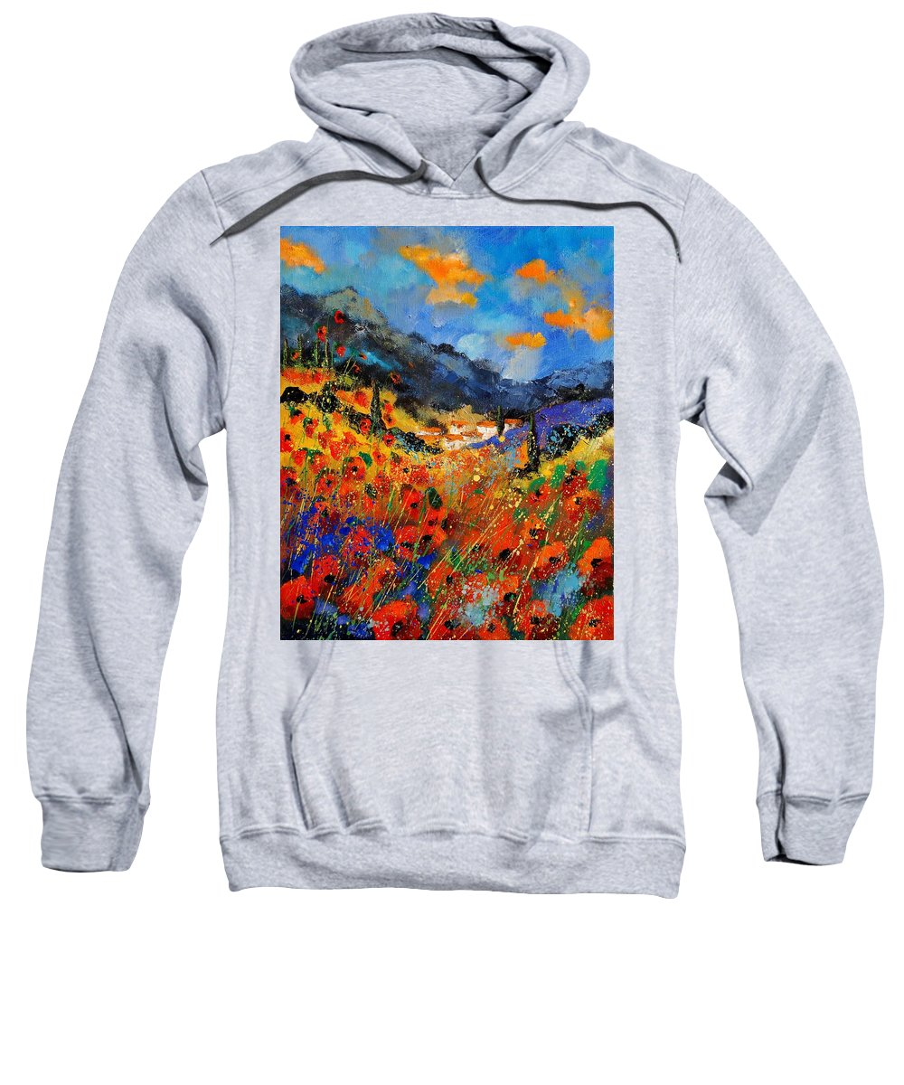 Sweatshirt featuring the painting Provence 459020 by Pol Ledent