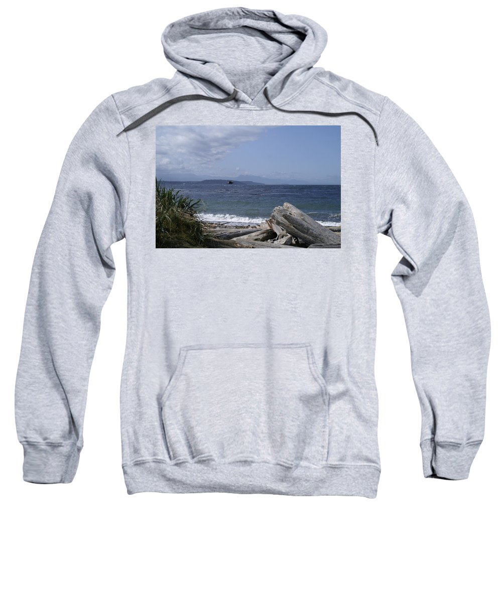 Puget Sweatshirt featuring the photograph Puget Sound by Henri Irizarri