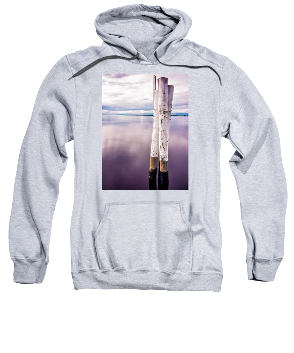 Florida Sweatshirt featuring the photograph Punta Gorda Bay by Michael Romano
