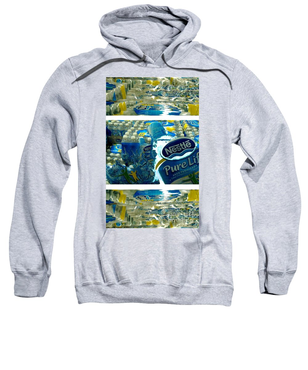 Water Sweatshirt featuring the photograph Pure Life by Ze DaLuz