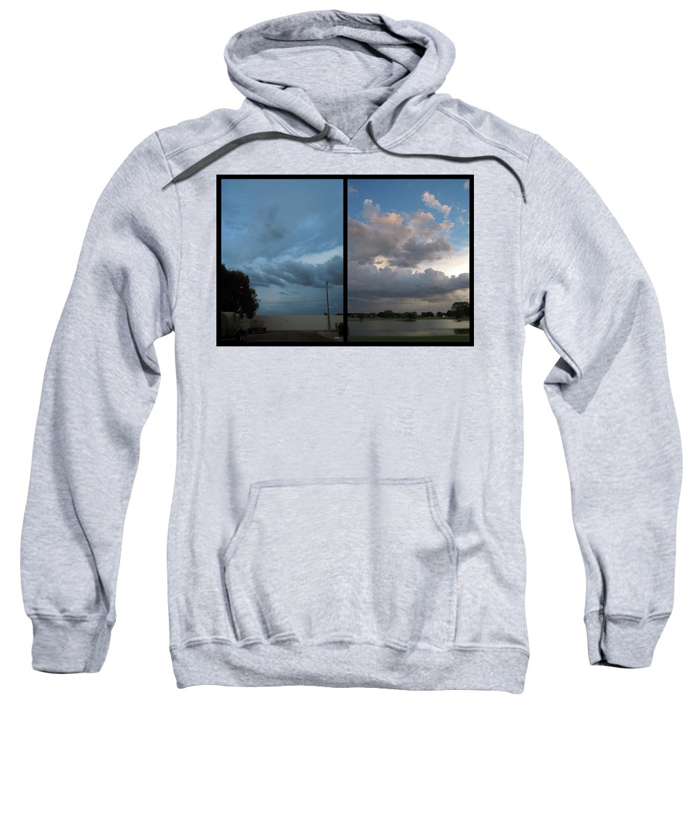 Purgatory Sweatshirt featuring the photograph Purgatory by James W Johnson