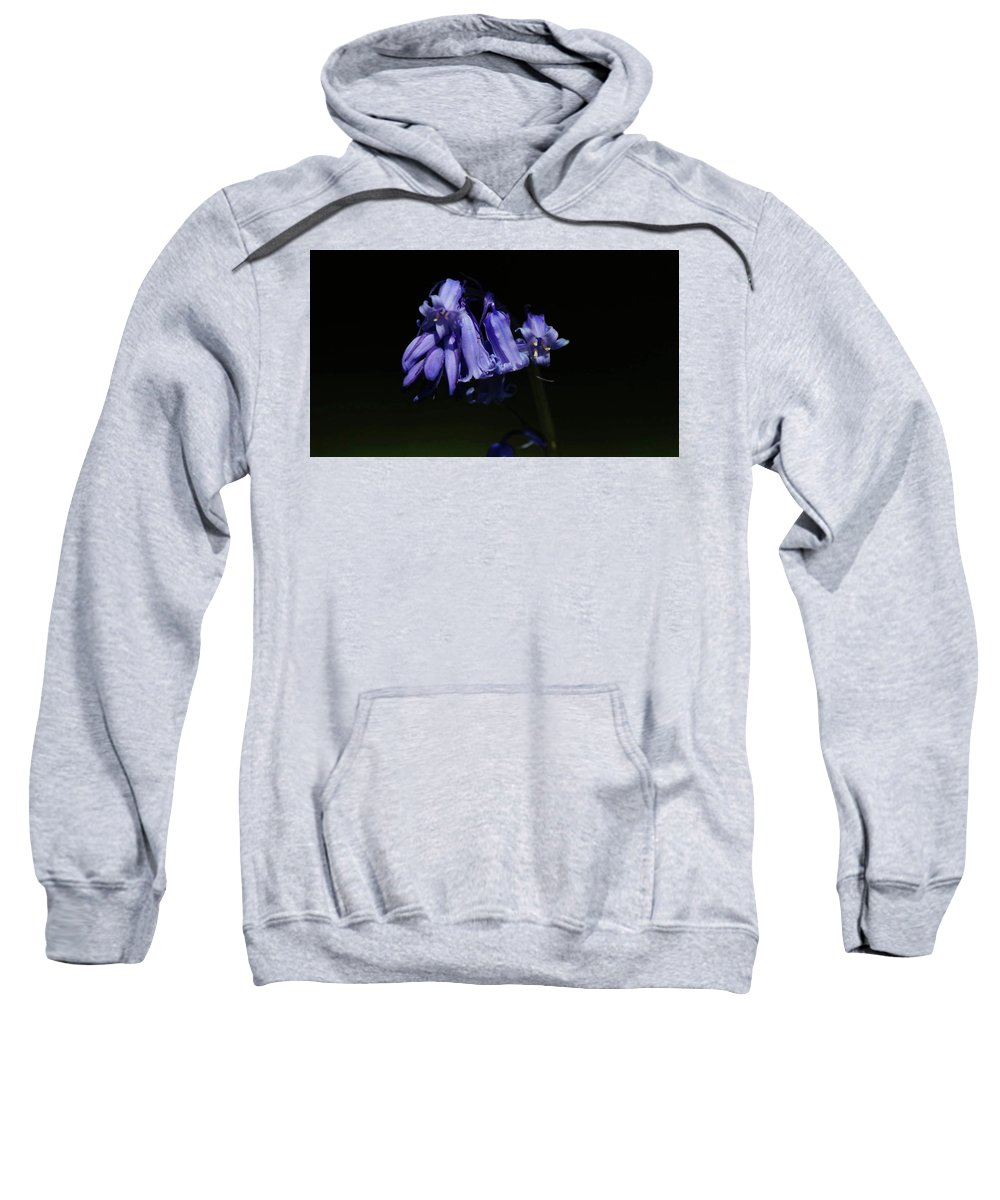 Sweatshirt featuring the photograph Blue Bells by Scott Ledingham-Park