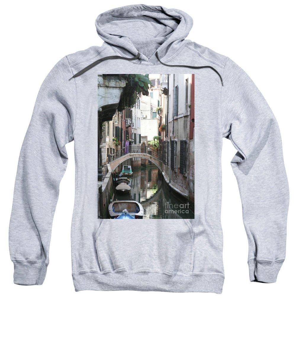 Venice Sweatshirt featuring the photograph Purple Wash by Darryl Patrick