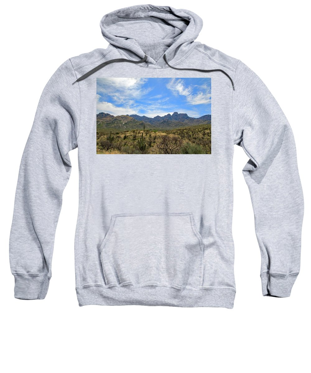 Sweatshirt featuring the photograph Pusch Ridge 4 by Kevin Mcenerney
