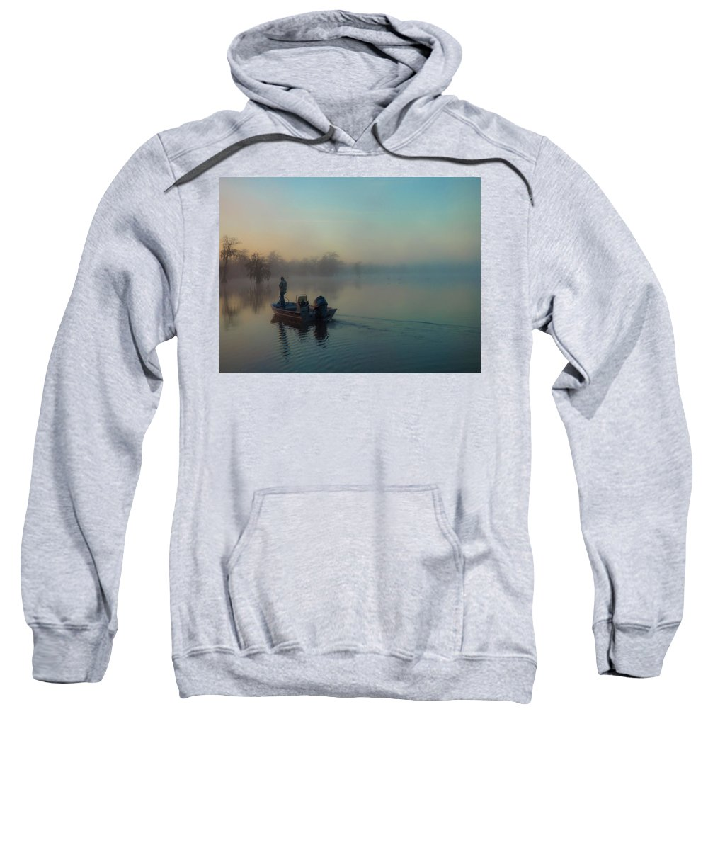 Orcinus Fotograffy Sweatshirt featuring the photograph Quiet Time by Kimo Fernandez