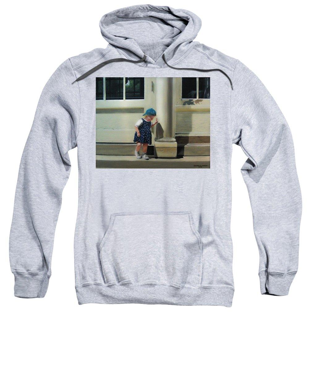 Children Sweatshirt featuring the painting Rachel by Kenneth M Kirsch