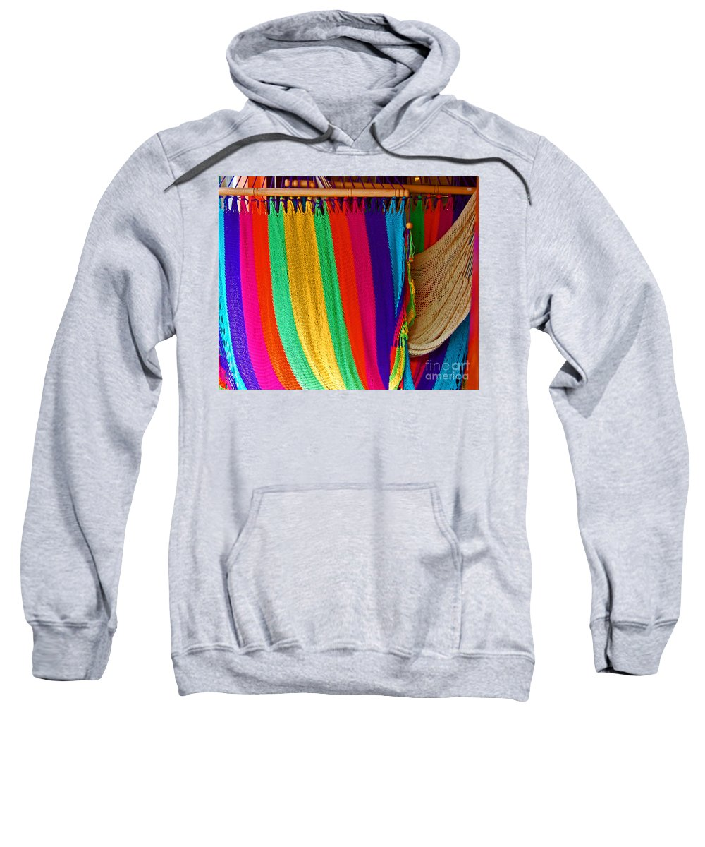 Hammock Sweatshirt featuring the photograph Rags To Riches by Debbi Granruth