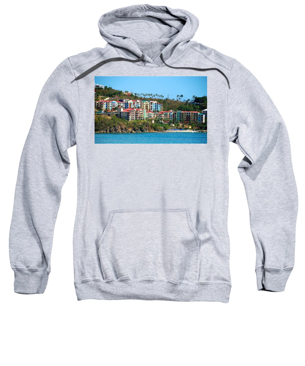 Multi-colored Sweatshirt featuring the photograph Rainbow Collection by David Coleman