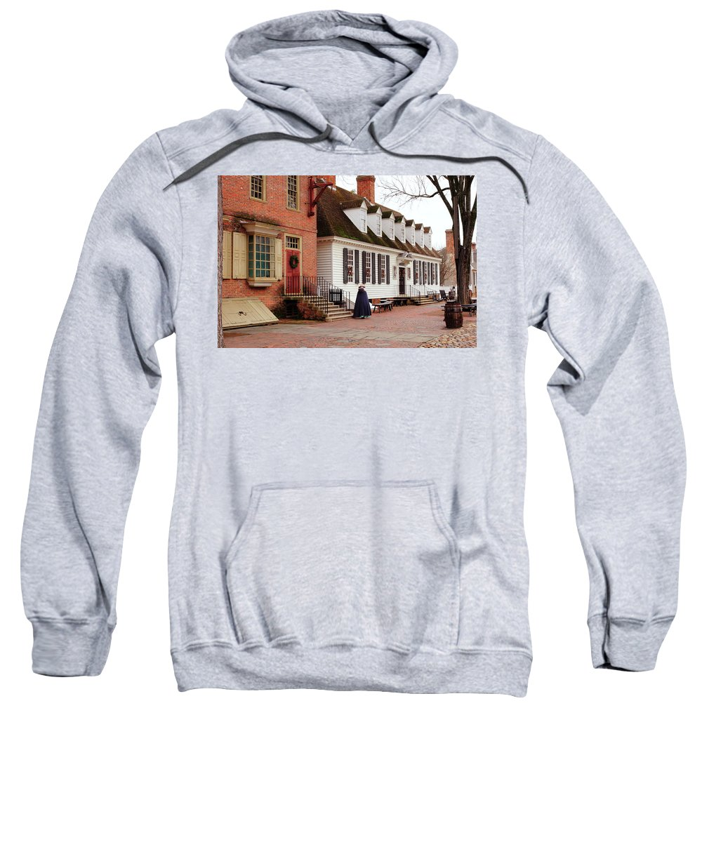 American Sweatshirt featuring the photograph Raleigh Tavern by Lou Ford