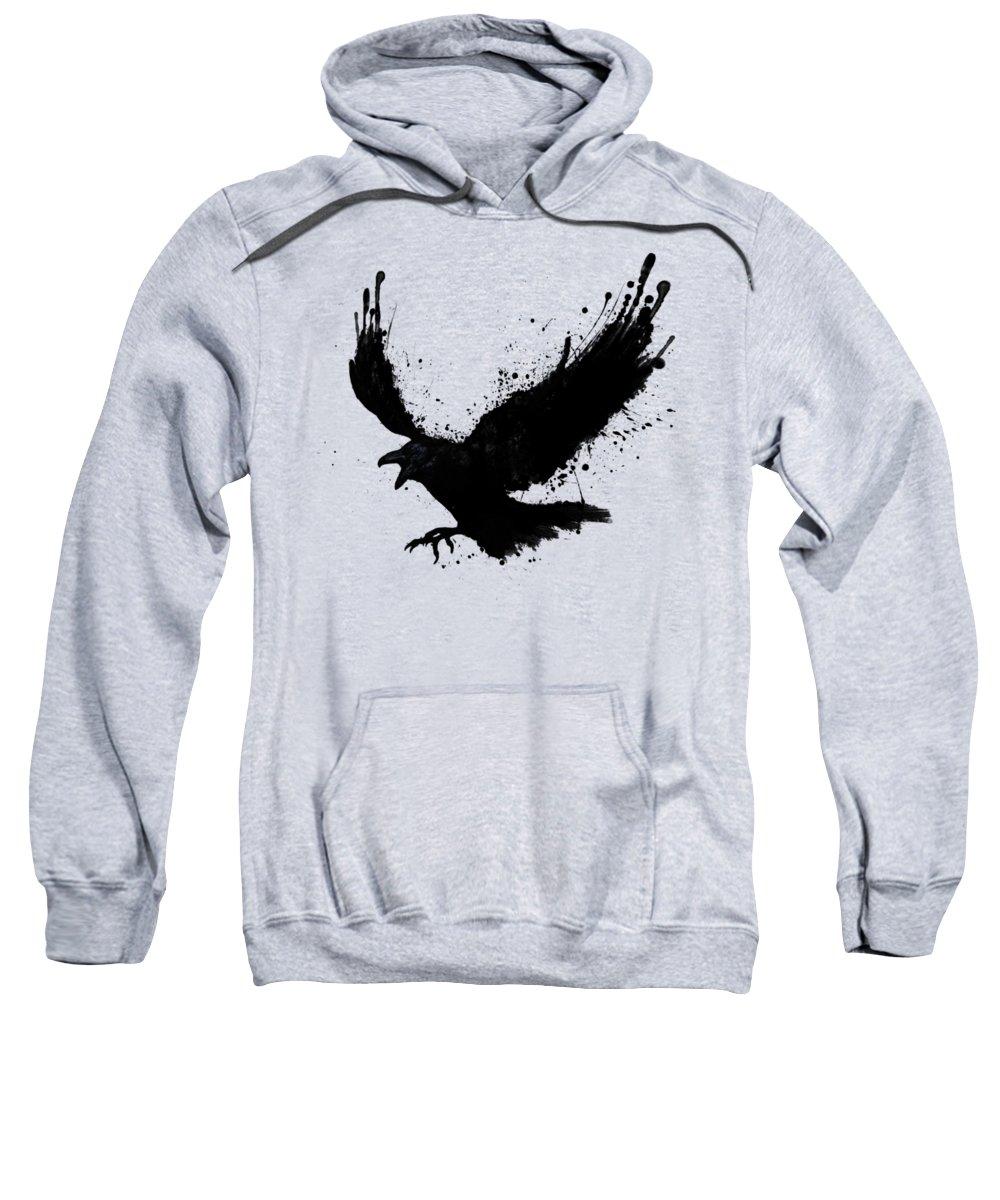 Crow Hooded Sweatshirts T-Shirts