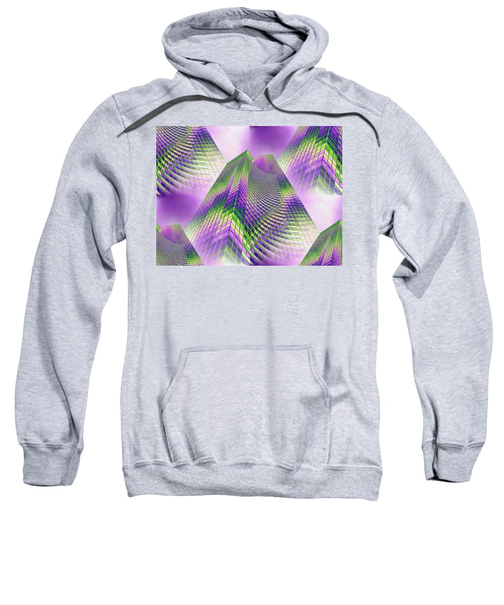 Seattle Sweatshirt featuring the photograph Reaching Skyward by Tim Allen