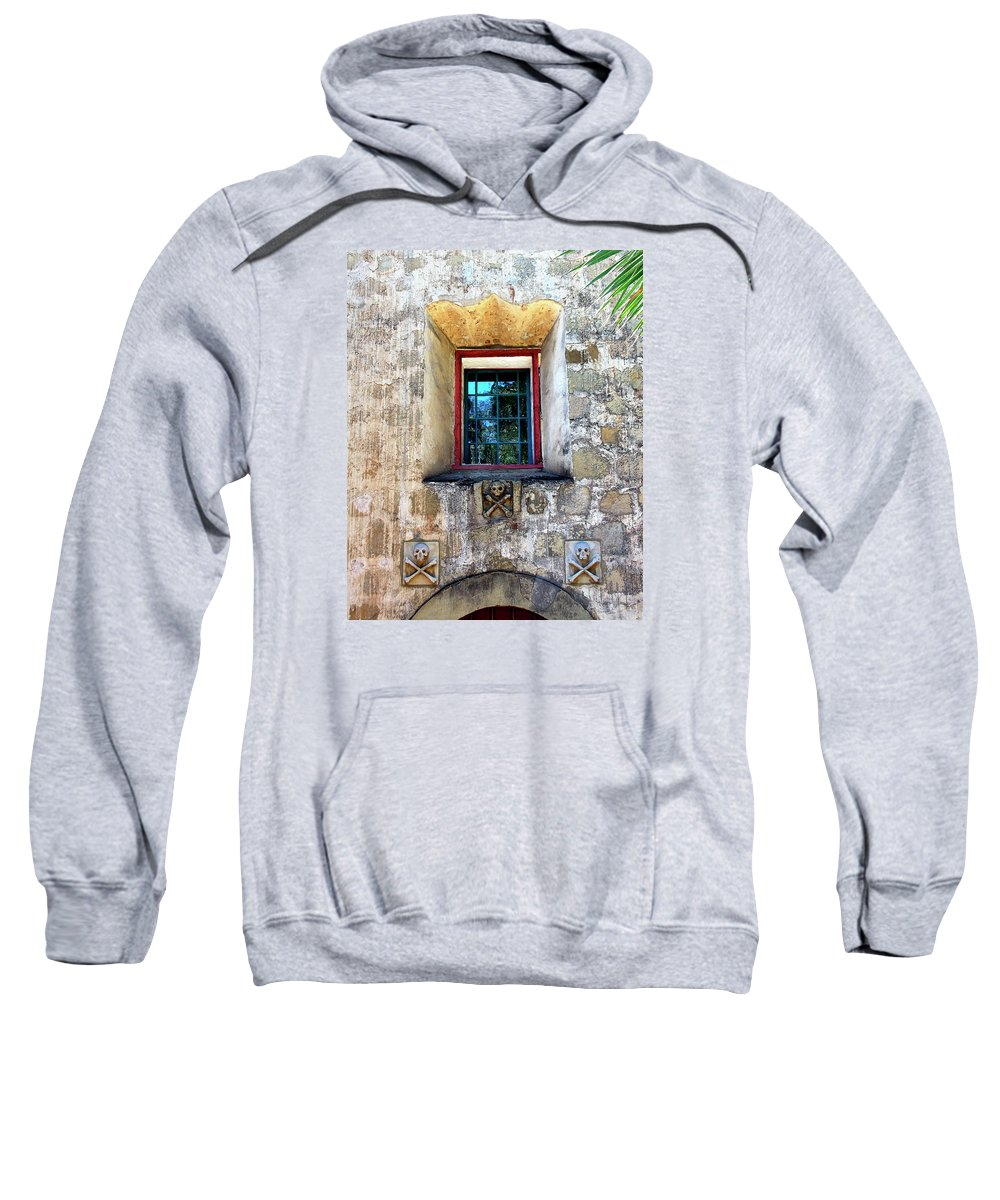 Santa Barbara Sweatshirt featuring the photograph Rear Window by William Dey