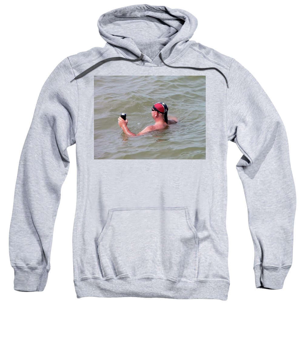 Rebel Sweatshirt featuring the photograph Rebel Refreshment by Al Powell Photography USA
