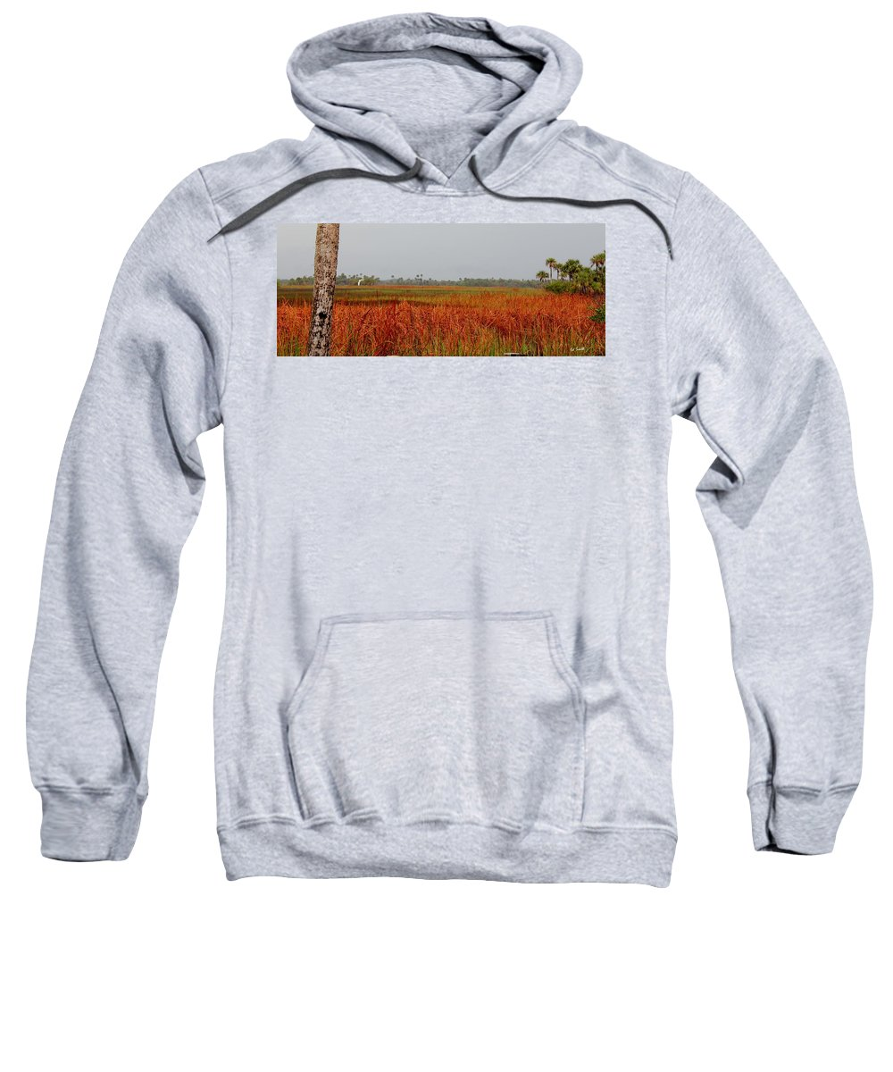 Red Tide Sweatshirt featuring the photograph Red Tide by Ed Smith