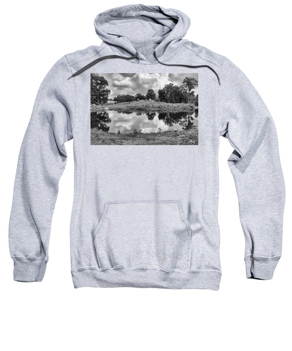 Landscape Sweatshirt featuring the photograph Reflections by Douglas Neumann