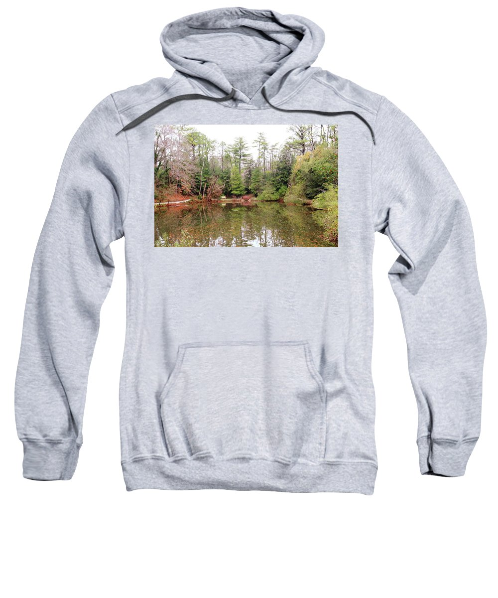 American Sweatshirt featuring the photograph Reflections by Lou Ford