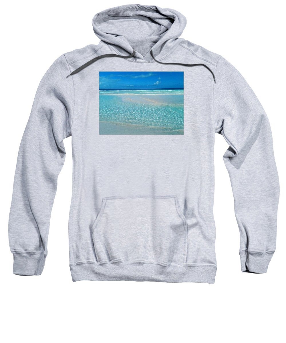 Ocean Sweatshirt featuring the photograph Reflection by Kayla Powell