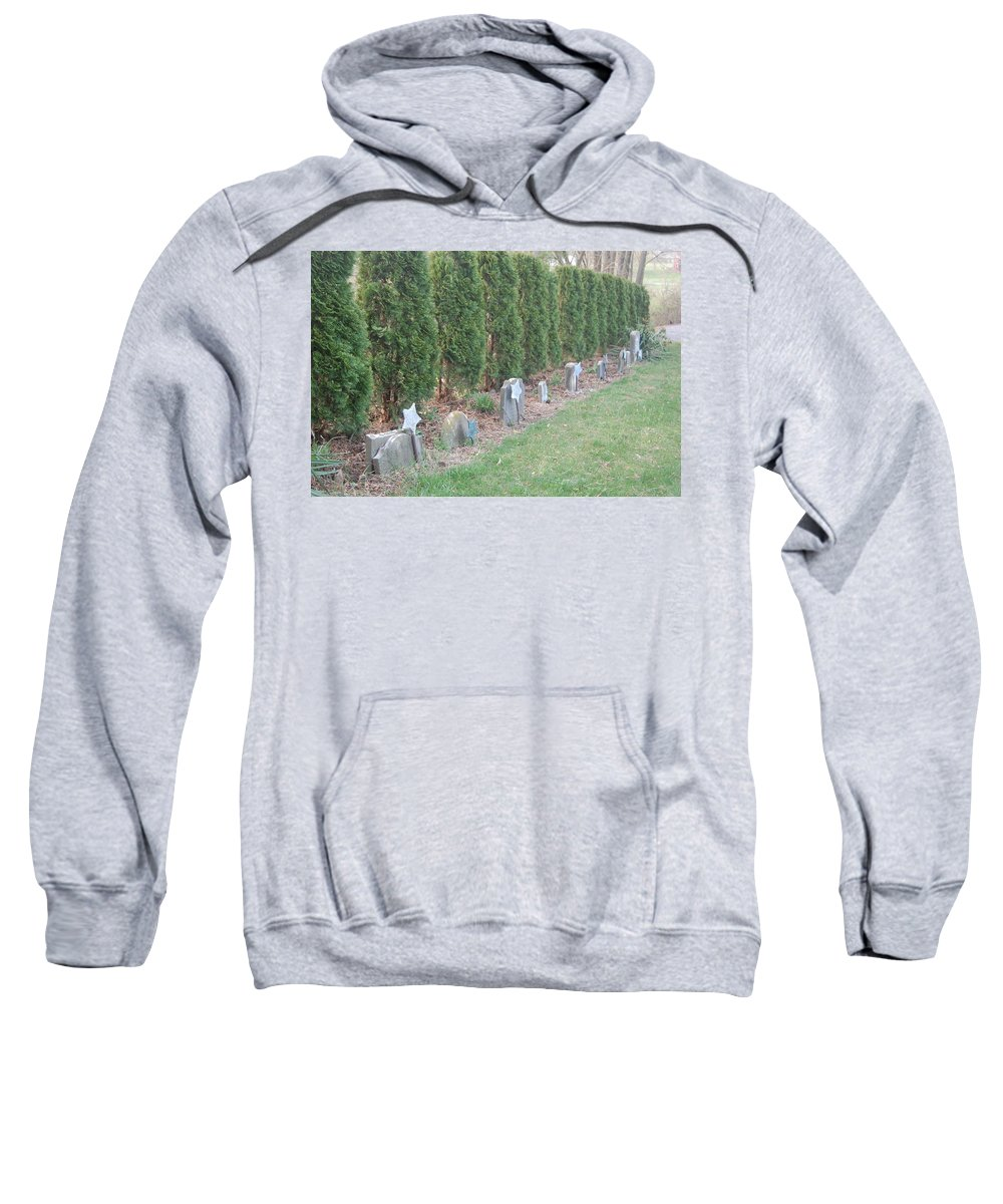 War Sweatshirt featuring the photograph Remember by Susan Patrie