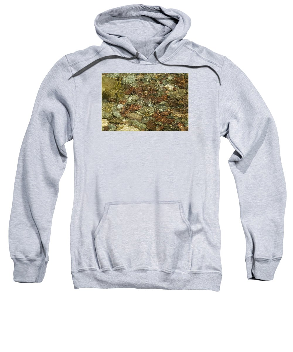 Tags Sweatshirt featuring the photograph Reticulated Reflection by Elizabeth Eldridge
