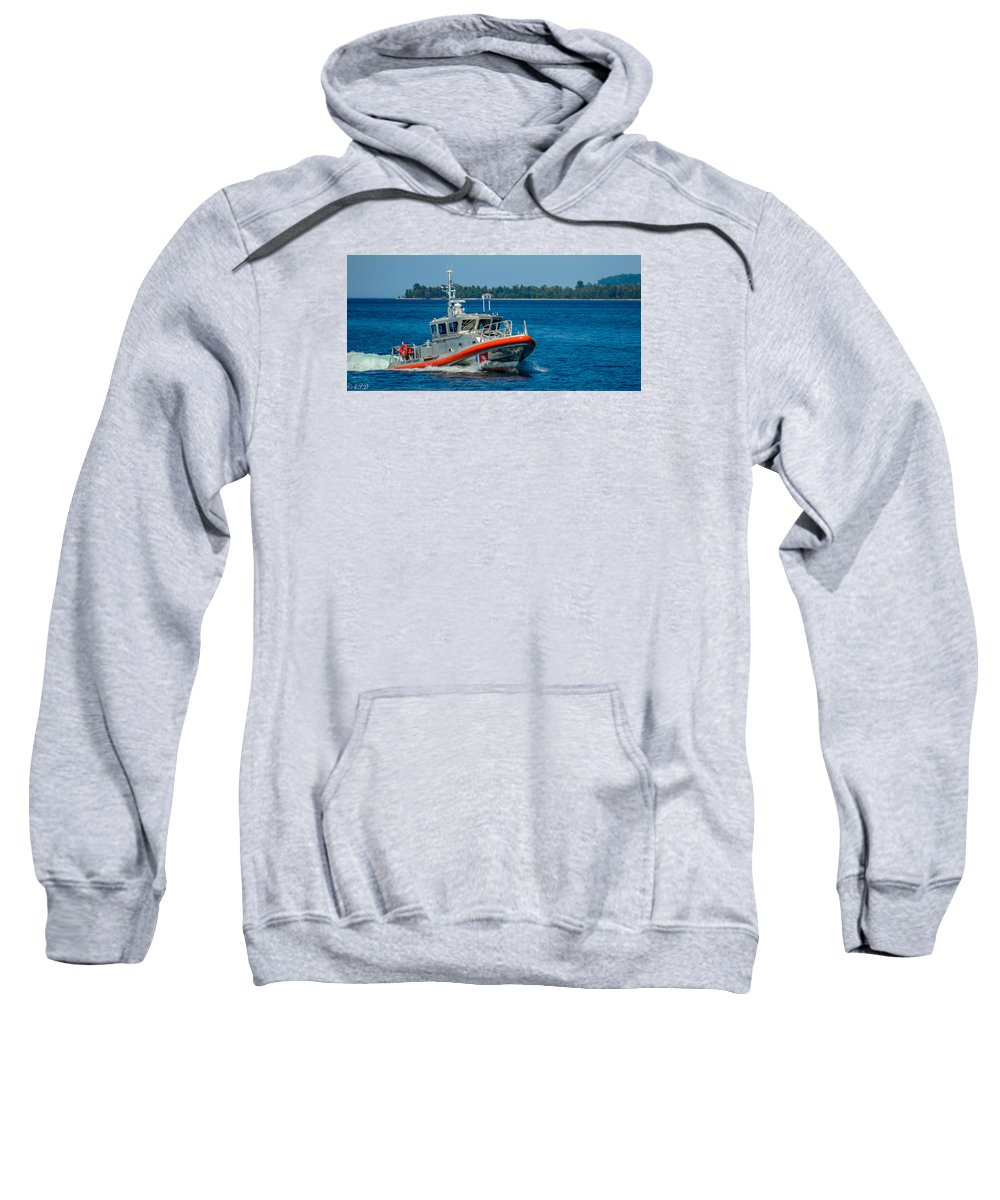 Coast Guard Sweatshirt featuring the photograph Revenue Marine by Eric Davenport