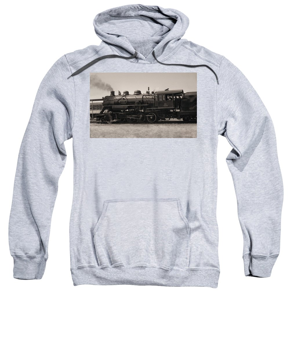 Americana Sweatshirt featuring the photograph Reverse Throttle by Richard Rizzo