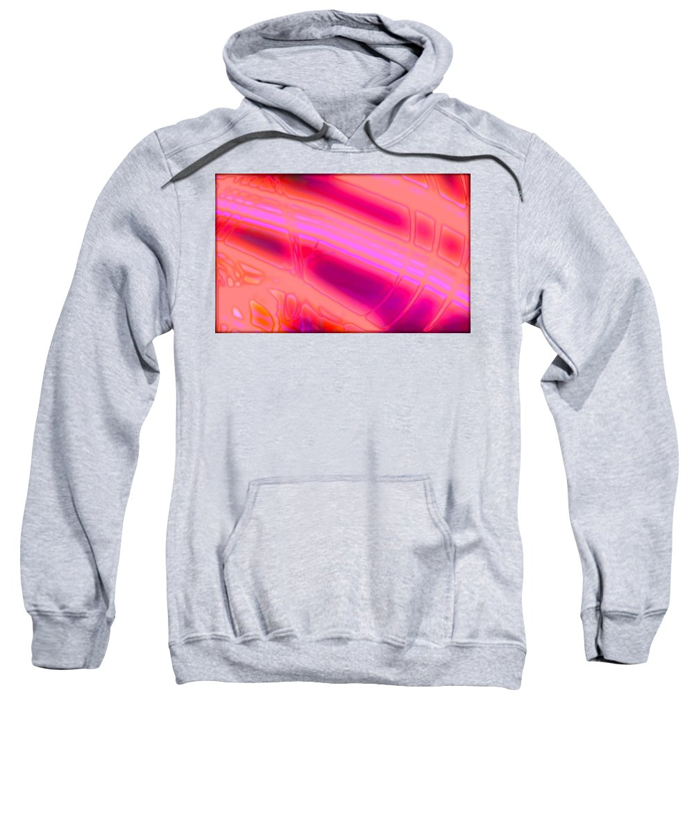 Art Digital Art Sweatshirt featuring the digital art Rib3mlv1 by Alex Porter