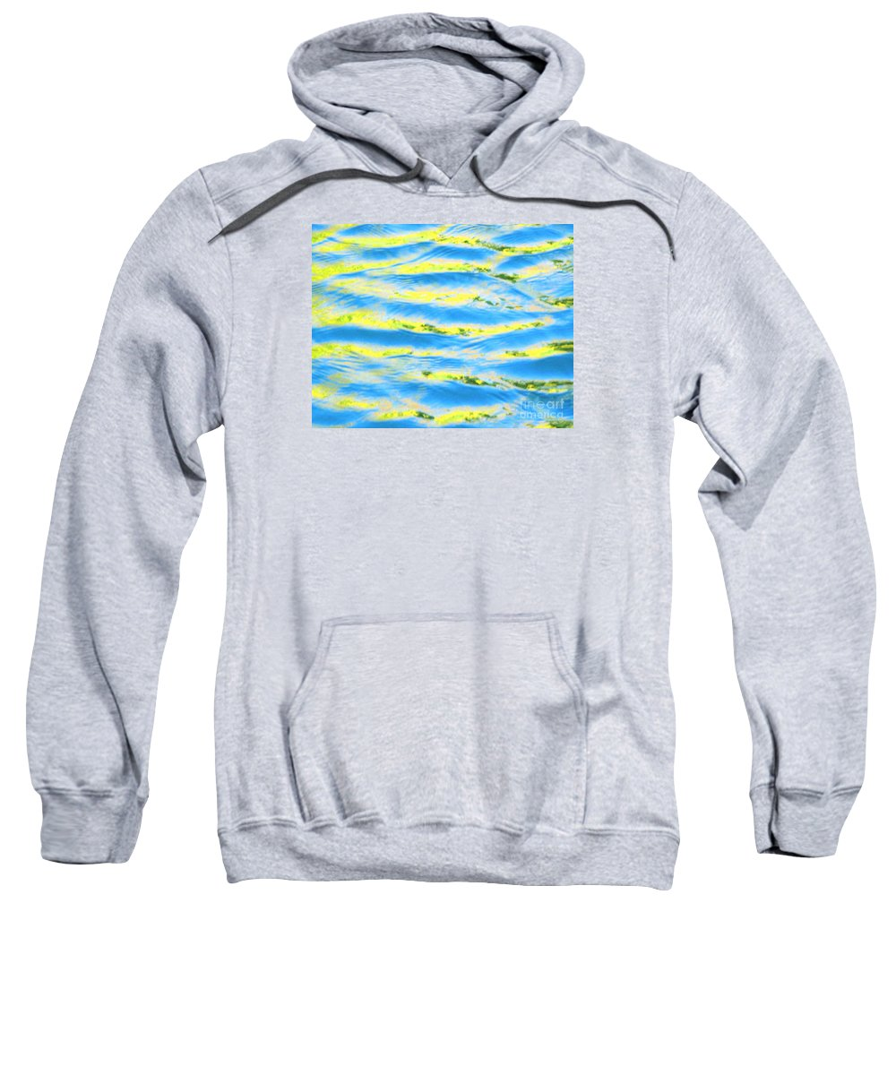 Calm Sweatshirt featuring the photograph Riding A Wave by Sybil Staples