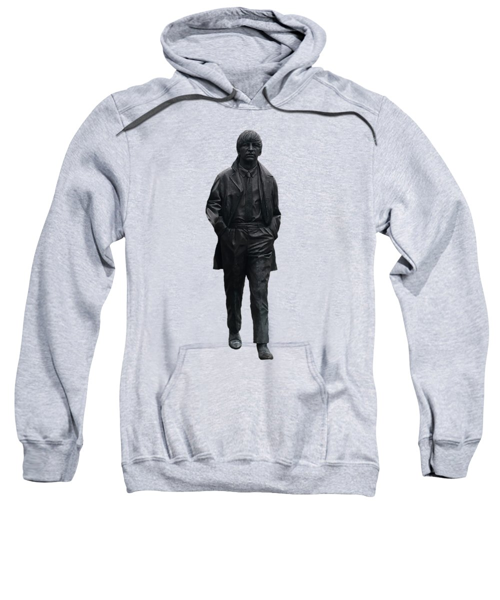 Ringo Starr Sweatshirt featuring the mixed media Ringo Starr by Movie Poster Prints