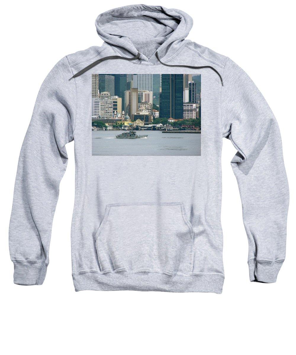 Rio De Janeiro Sweatshirt featuring the photograph Rio De Janeiro V by Brett Winn