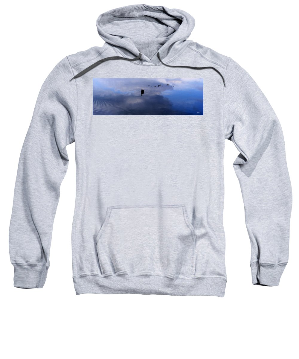 Ripples Sweatshirt featuring the photograph Ripples by Ed Smith