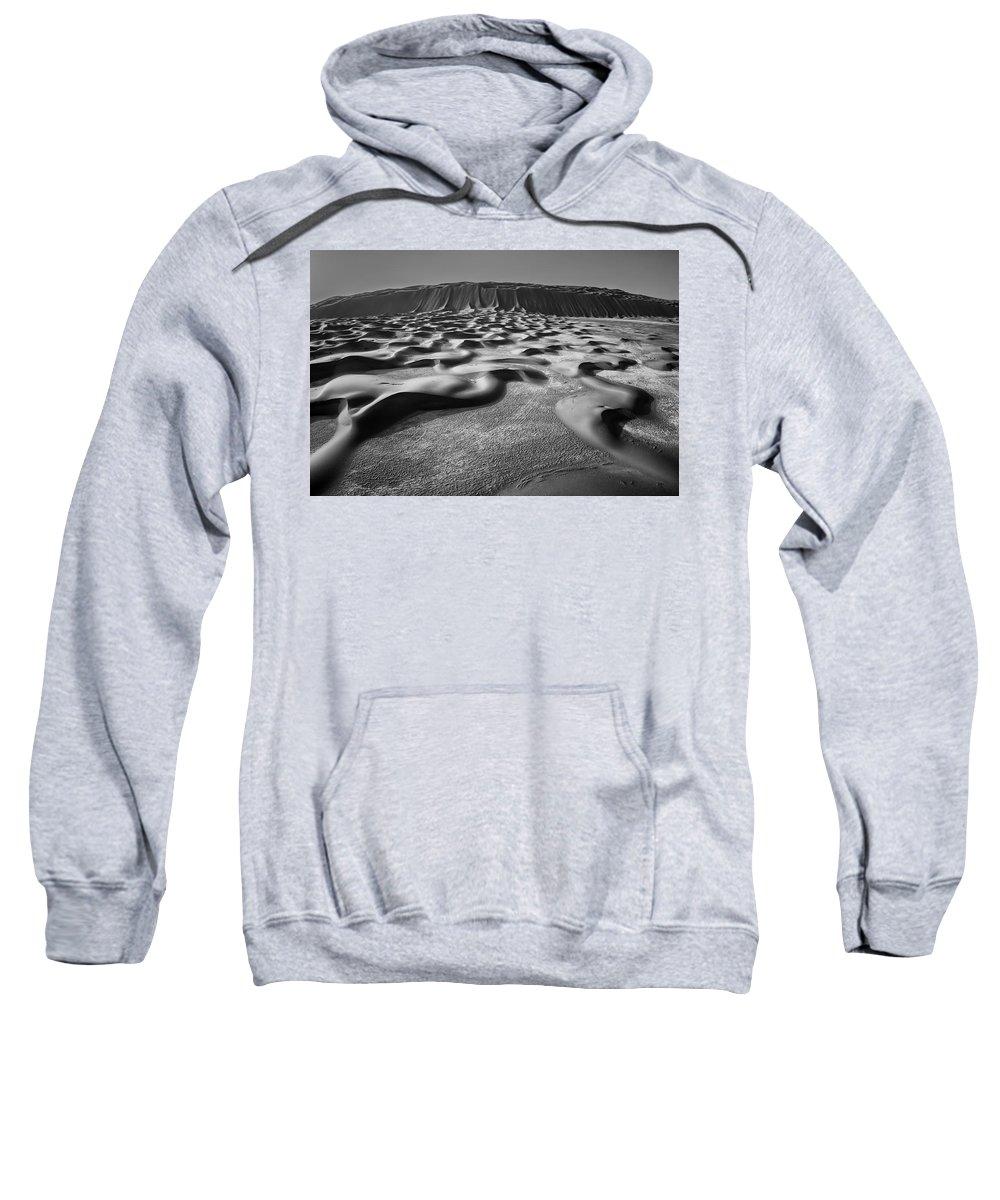 Desert Sweatshirt featuring the photograph Ripples by Robert Work